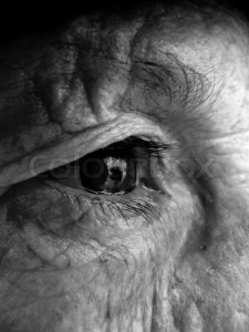 5073369-old-grandma-face-eyes-bw-black-and-white